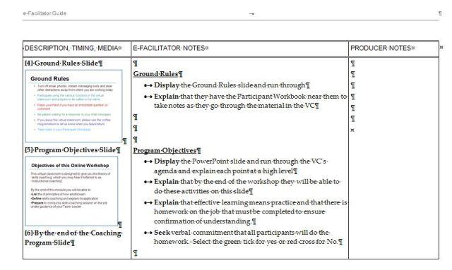 The e-Facilitator Guide