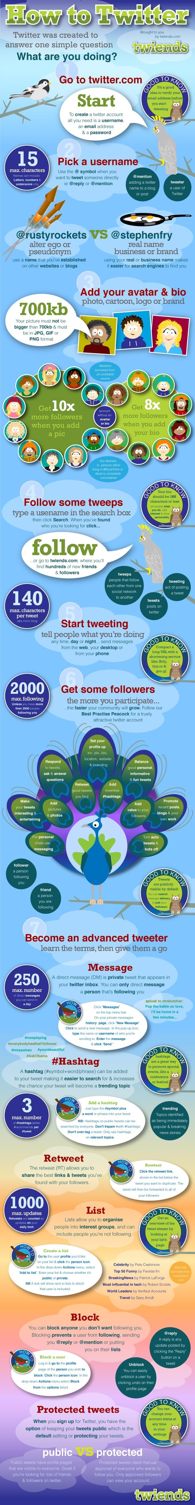 Reference: http://www.mediabistro.com/alltwitter/how-to-twitter-infographic_b12491